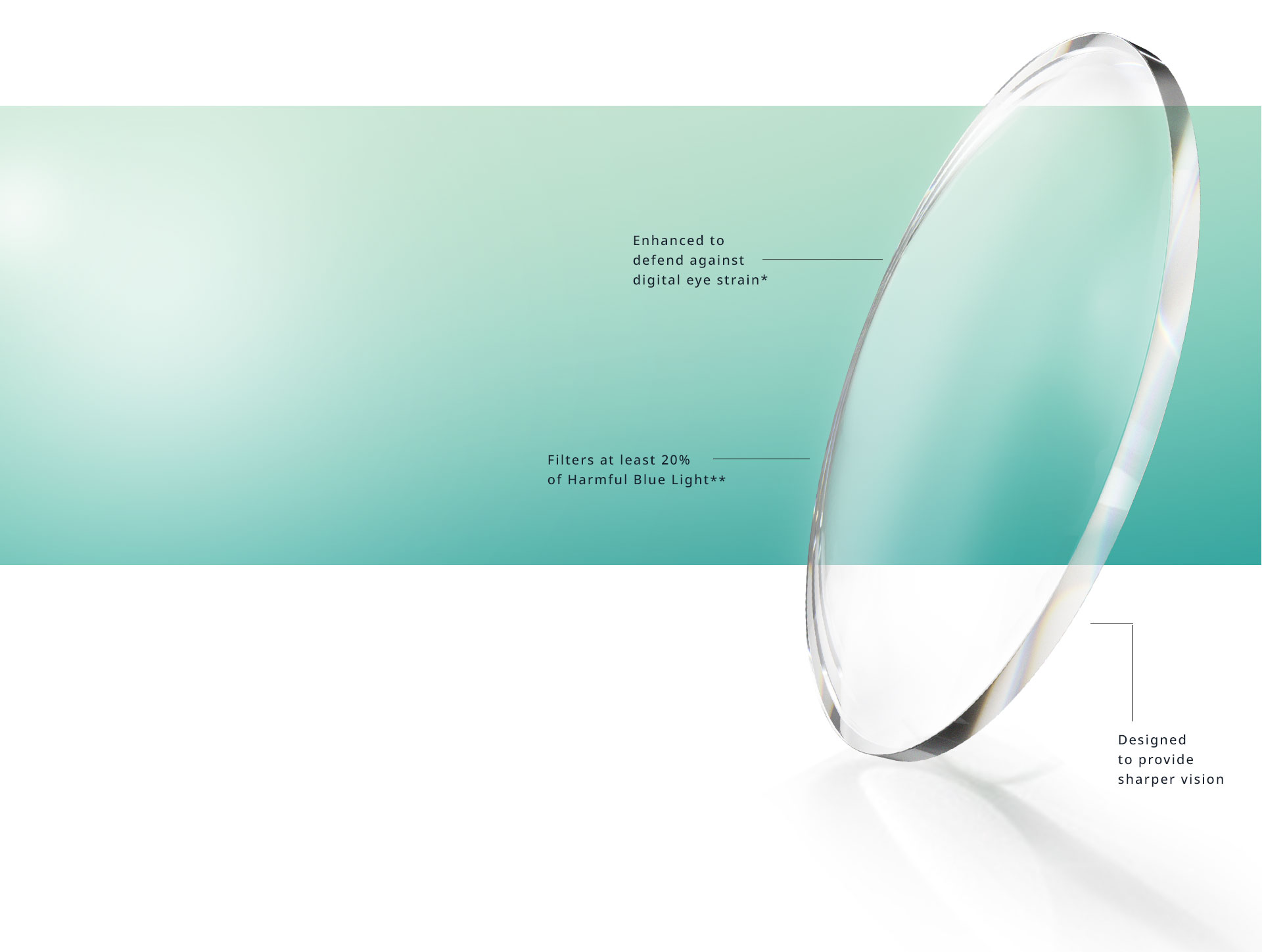 bdaf01f6aa6 Eyezen lenses filter at least 20% of harmful blue light   and are designed
