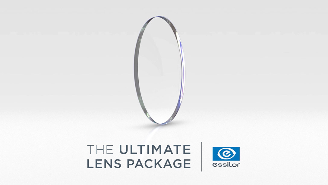 New! The ultimate lens package from Essilor